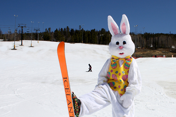 Spring Skiing at Ski Granby Ranch - ©Photo courtesy Ski Granby Ranch.