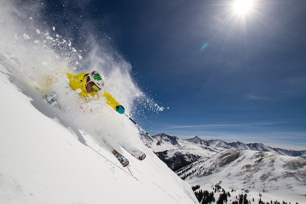 Put those golf clubs away...spring is for skiing. - ©Liam Doran