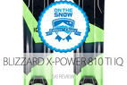 2015 Men's Frontside Editors' Choice Ski: Blizzard X-Power 810 TI IQ - ©Blizzard
