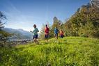 Neues Paradies für Läufer, Biker und Inline-Skater: Im Heidiland der Fitness auf der Spur