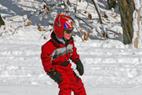 Wild Mountain MN kid skier - Skiing child at Wild