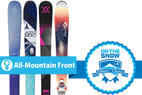 The 4 Best Women's All-Mountain Front Skis for 2015/2016