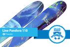 Line Pandora 110: Editors' Choice, Women's Powder