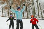 Wild Mountain MN ski boys - A trio of young