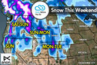 Snow Before You Go Nov. 11: More Snow for the West - ©Meteorologist Chris Tomer