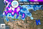 Snow Before You Go: Snomageddon to Continue out West - ©Meteorologist Chris Tomer