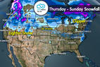 Snow Before You Go: Storm Track Shifts North - ©Meteorologist Chris Tomer