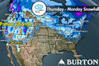 Snow Before You Go: Pow-Alarm! 50 INCHES to Bury West - ©Meteorologist Chris Tomer