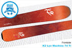 K2 Luv Machine 74 Ti: 16/17 Editors' Choice Women's Frontside Ski - ©K2