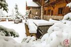 Sneeuwval in Frankrijk op 13 oktober. - ©Facebook Vars