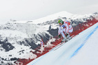 Weltcup in Kvitfjell: Didier Cuche im Training vorn - ©Alain GROSCLAUDE/AGENCE ZOOM