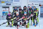 Audi FIS Ski World Cup: Deutsche Nationalmannschaft trainiert auf der neuen Weltcup-Strecke - ©Thomas Liebl