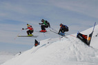 Ski Cross-Spektakel in Disentis - ©Swiss-Ski