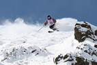 Traumhafte Bedingungen für die Freeskier in Kirkwood - ©Eben Wight