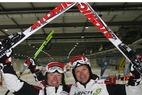 Synchro Ski-WM an Steiner und Simonlehner - ©Synchro Ski Association