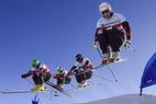 Swiss-Ski und Coop lancieren Ski Cross-Projekt - ©Swiss-Ski