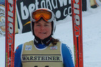 Michaela Dorfmeister holt sich mit grandiosem Lauf Abfahrts-Gold - ©Krapfenbauer/XnX