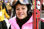 Janica Kostelic feiert ersten Riesenslalom-Sieg im Weltcup - ©G. Löffelholz / XnX GmbH