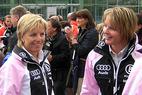 ÖSV-Doppelsieg beim Super-G der Damen in Lake Louise - ©Ch.Fluehr/XnX GmbH
