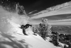 Powder and Blue Skies at Snowbasin Resort, Utah: Storm Gallery