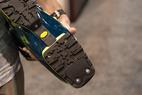 The Scarpa Freedom SL will come with tech-compatible Vibram soles.