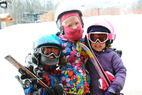 Kids are all smiles at Granite Peak Ski Area. - Kids are all smiles