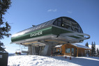 The high speed Dasher lift at Granite Peak Ski Area. - The high speed Dasher