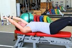 Postseason Ski Exercises with Grete Eliassen: Dumbbell Lat Pullover with Hip Flexion