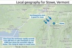Learn how to predict snowfall totals at Stowe.