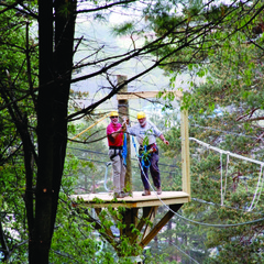 Zipline Canopy Tours at Okemo add one more adventure to the list of activities that can be done at the resort year-round.