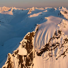 Dean Cummings' First Descent on Mount Francis near Valdez, Alaska, April 2012 - ©Eric Layton