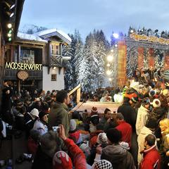 RTL2 Aprs Ski Hits at the Mooserwirt in St Anton