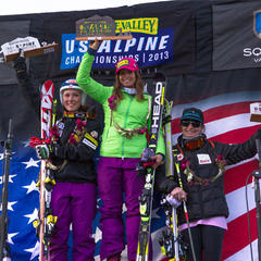 Julia Mancuso, women's podium