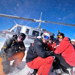 Heli skiing, Selkirk Tangiers  - ©Andrew Danyluk