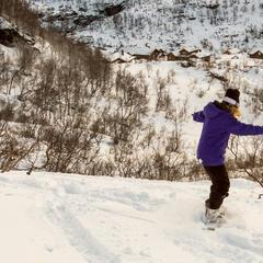 Flotte forhold i Eikedalen, februar 2014. Sol, bluebird og pudder! - ©Jan Petter Svendal