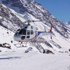 Heli skiing, Portillo - ©Cindy Hirschfeld