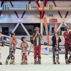 Beginner lessons at the Telegraph Ski and Snowboard Show - ©Ski and Snowboard Show