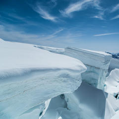 Glacier at Monta Rosa