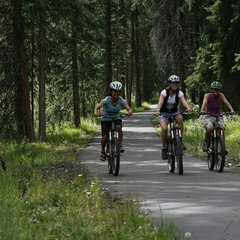 Winter Park CO family biking