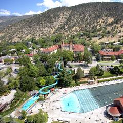 Glenwood Springs CRA CO aerial