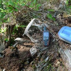 Geocaching: Dose und GPS - ©Sebastian Abel