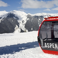 Aspen gondola