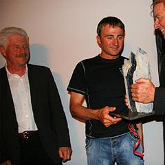 Ueli Steck Eiger-Award 2008 - ©Angela Bruderer