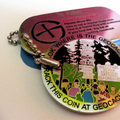 Geocoin - ©FlickR / RevDanCatt