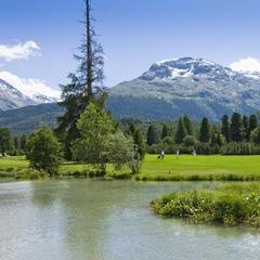 Golfplatz Samedan bei St. Moritz - ©Graubünden Ferien | Andrea Badrutt