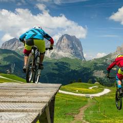 Horská cyklistika v Trentinu