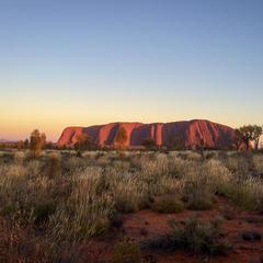 Der Uluru bei Sonnenaufgang - ©Julia Mohr   Florian Reuter