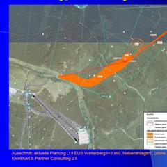 Lageplan mit der geplanten Seilbahn - ©Stadt Wernerigerode