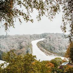 14. Oktober 2015: Erster Schnee des Winters im Sauerland - ©Facebook Wintersport Arena Sauerland