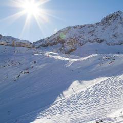 Eisjochzunge mit Buckelpiste - ©Skiinfo